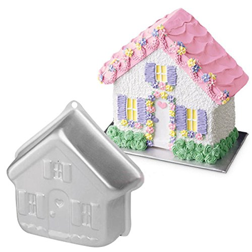 House Cake - 8.5 inch Home House Cake Baking Pan Cakes Mold for Kids Birthday