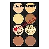 L. A. COLORS I Heart Makeup Contour Palette - Light To Medium
