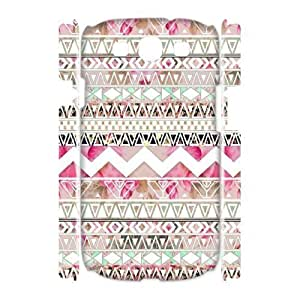 Aztec Tribal Pattern Unique Design 3D Cover Case for Samsung Galaxy S3 I9300,custom cover case ygtg537800 Kimberly Kurzendoerfer