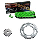 #8: 1994-1997 Suzuki RF900R O-Ring Chain and Sprocket Kit - Green