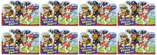 Paw Patrol Invitations 8 Ct]()