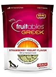 Fruitables Greek Strawberry Yogurt Crunchy Dog Treats Larger Image