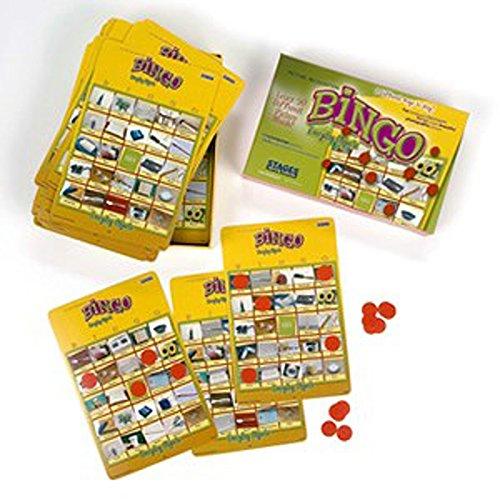 Vie réelle photo Bingo jeu - Everyday objets enfance
