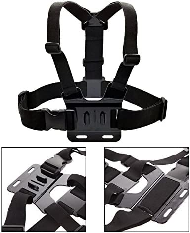 SUNMENCO Adjustable Chest Mount Harness Chesty Strap for Gopro AKASO//Apeman//Pictek//DBPOWER//WIMIUS//Lightdow//Cymas Action Camera Accessories
