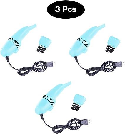 Eipek Mini PC USB Aspirador Teclado Cepillo Limpiador para ...