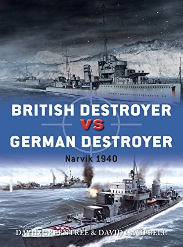 British Destroyer vs German Destroyer: Narvik 1940 (Duel) British Destroyer