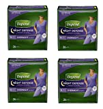 Depend Night Defense Incontinence Overnight Underwear for Women,  4Pack (26 Count (X-Large))