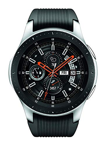 Samsung Galaxy Watch (46mm) Silver (Bluetooth), US Version Bundle with 2 Charging Docks (Renewed)
