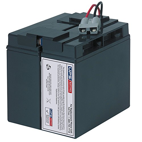APC SMART-UPS 1500 1400 SUA1500 SUA750XL SUA1000XL SU1400NET SU1000XLNET RBC RBC7 REPLACEMENT BATTERY CARTRIDGE UPS BATTERY PACK by UPSBatteryCenter Replacement Battery Unit