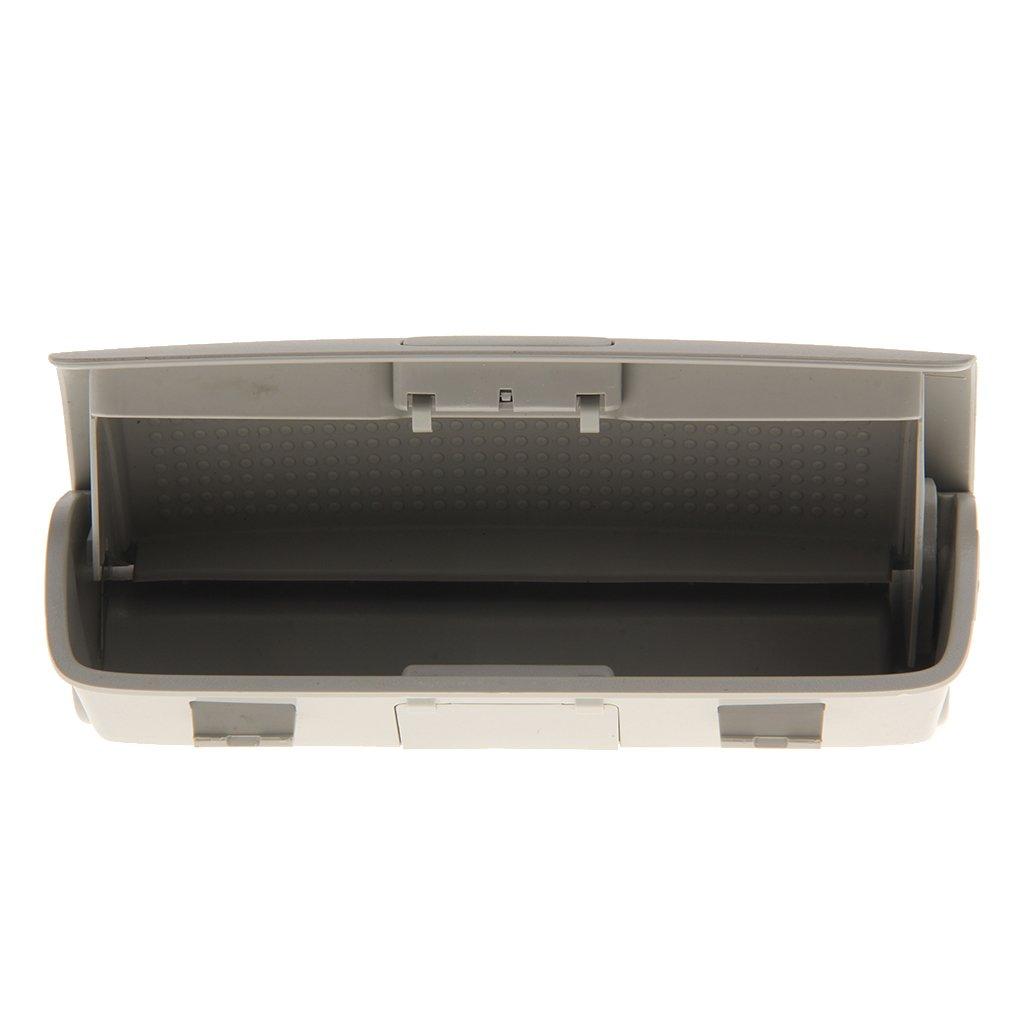 Portalentes Caja de Almacenaje Soporte de Gafas de Sol Montaje Coche para VW Passat B6 Jetta Mk5 Sedan Beige