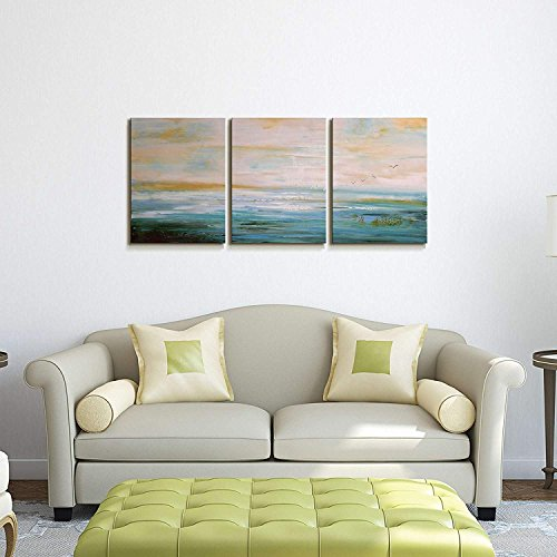 Abstract Art Painting for Wall Canvas Art Decor for Living Room 3 piece Pictures Ready to Hang wall decorations Artwork for walls Hand Painted Abstract Wall Art