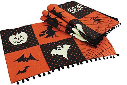 Xia Home Fashions Halloween Patchwork