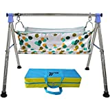 Multipro Indian Ghodiyu, Indian Style Cradle, Baby Cradle, Quick Set up For New Born Baby, Indian Baby Swing Cradle Foldable Hammock, Baby Hammock, Baby Cradle N Swing