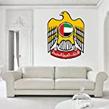 United Arab Emirates (UAE) Coat of Arms Vinyl Decal Wall, Car, Laptop - 6 inch