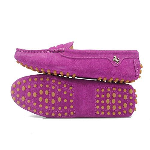 Meijili - Sandalias mujer Rojo Púrpura