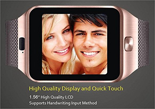 TechComm DZ09 Smart Watch With 0.5 Mp Camera Bluetooth Gsm For Android Phones by TechComm (Image #4)