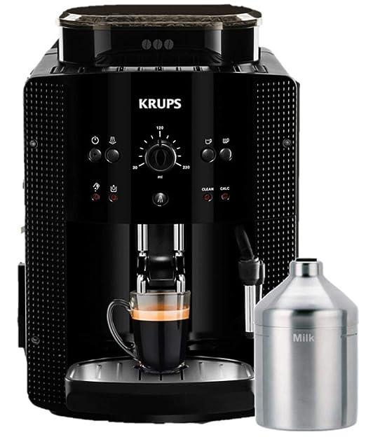 Krups Arabica EA 81M8 Independiente Máquina espresso Negro 1,8 L ...