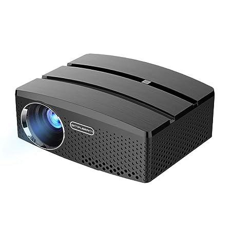 HLKYB Proyector casero, Home Cinema LCD película proyector ...