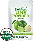 organ juice - Biofinest Lime Powder - 100% Pure Freeze-Dried Antioxidants Superfood -USDA Certified Organic Kosher Vegan Raw Non-GMO - Boost Digestion Weight Loss - For Smoothie Beverage Blend (4 oz Resealable Bag)