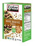 Explore Cuisine Organic Brown Rice Fusilli, Organic, Gluten Free, non-GMO Verified, 12 oz (Pack of 6)