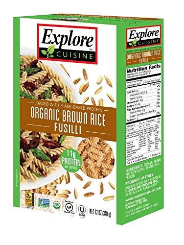 Explore Cuisine Organic Brown Rice Fusilli, Organic, Gluten Free