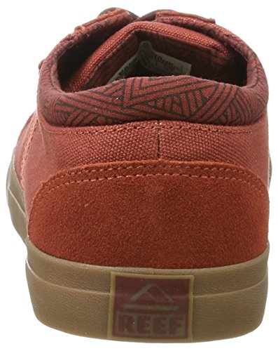 Pictures of Reef Men's Ridge Fashion Sneaker Black D(M) US 8