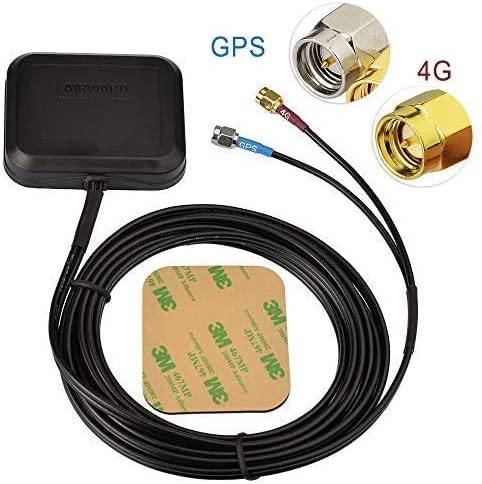 GPS SMA Antenna Connector Cable Car Laptop PC Navigation for Wireless Network GPS Signal Extender