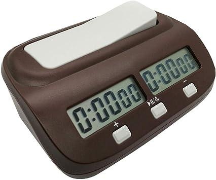 CoURTerzsl International Chess - Reloj Digital Profesional con ...