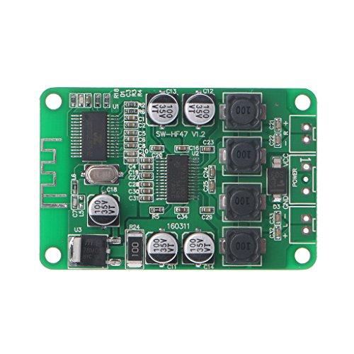 W Digital Stereo Bluetooth Audio Power Amplifier Board Bluetooth For Bluetooth Speaker ()