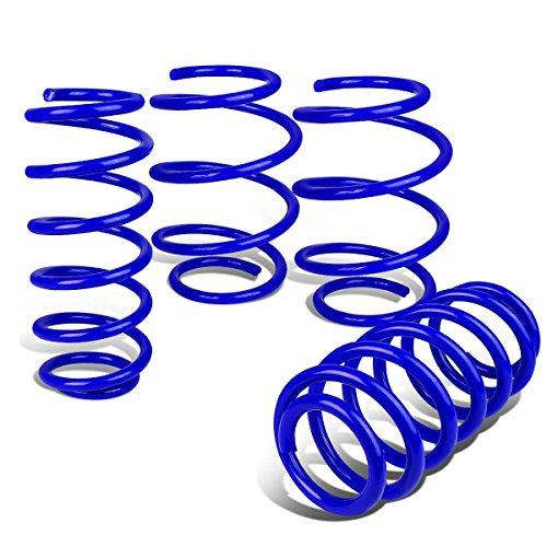 (DNA Motoring LS-HC16-BL 4Pcs Suspension Lowering Spring Kit [for 16-18 Honda)