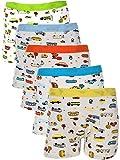 Yanzi6 Underwear Brief Boy - Boys Boxer Briefs 5-pack - Underwear Brief Boy (Large/ 3-5 Years)