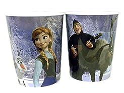 Disney Frozen Tin Wastebasket (Anna and ...