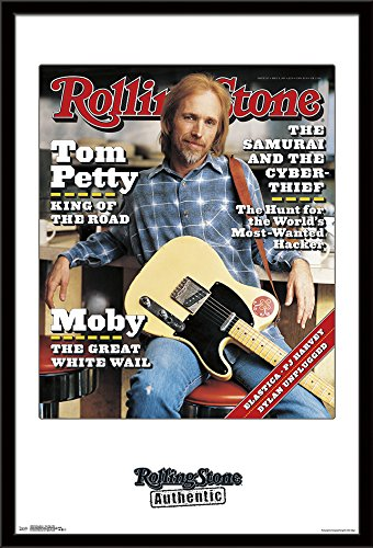 Trends International Mounted Poster Rolling Stone Tom Petty 1995, 24.25