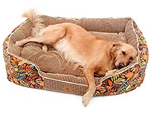 Amazon.com :, Winter 2016] PLS Paradise Bolster Dog Bed