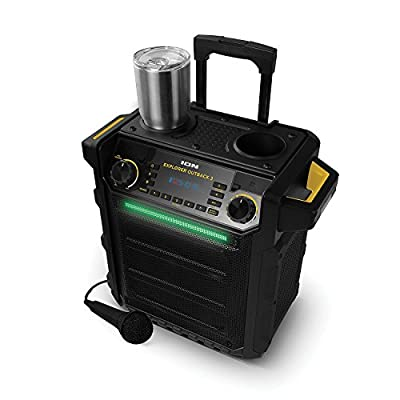 Ion Explorer Outback 2 Bluetooth Water Resistant Speaker System - Black