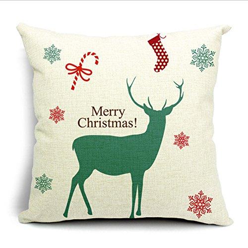 Año nuevoTM MoistMax Navidad decoración casera de algodón ...
