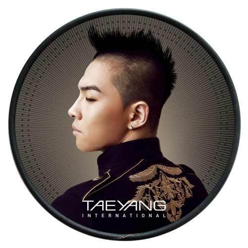 BIGBANG TAEYANG [SOLAR] 1st International Release Album CD+DVD+Booklet+Tracking Number SEALED