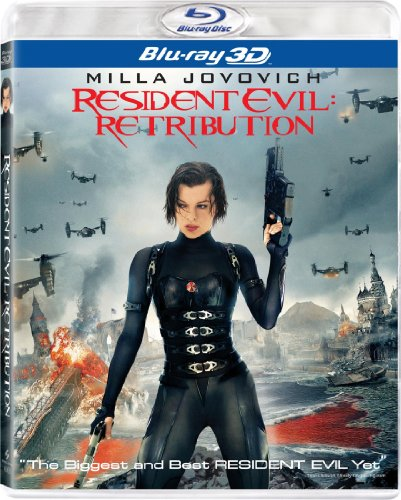 Resident Evil: Retribution 3-D (Two-Disc Combo: Blu-ray + UltraViolet Digital Copy)