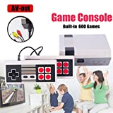 Oksale Retro Classic Game Consoles Built-in 600 Childhood Classic Game Dual Control, 8-Bit Console Games