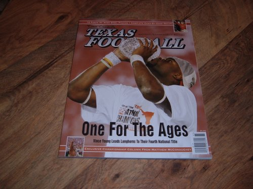 Vince Young, University of Texas Longhorns-2005 National Champions, Dave Campbell's Football magazine, 2005 National Championship Edition.
