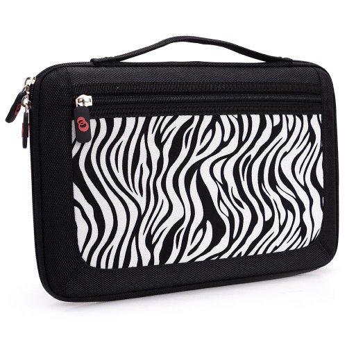 - Kroo Slim 11-Inch Tablet Case with Carrying Handle - Zebra (ND11HDZ1-6491)
