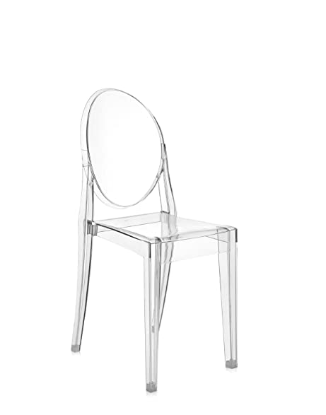 kartell victoria ghost chair transparent crystal