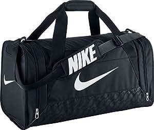 Nike Brasilia 6 Duffel Bag Black/White Size Small