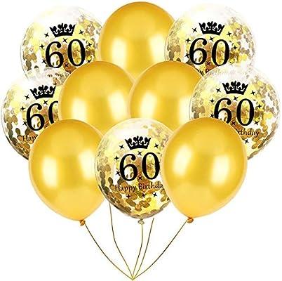 LRLRLQQ Decoraciones De Fiesta De Cumpleaños Adulto 30 40 50 ...