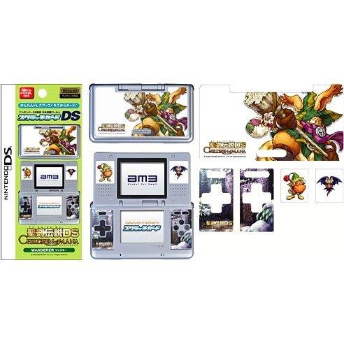 Nintendo DS Scratch Guard/Stickers  ~ Children of Mana