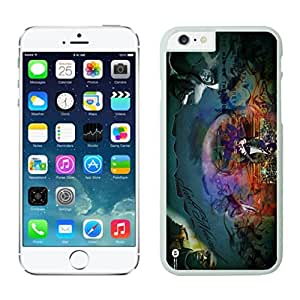 NEW DIY Unique Designed Case For Iphone 6 Kid Cudi - Man on the Moon iphone 6 White 4.7 TPU inch Phone Case 232