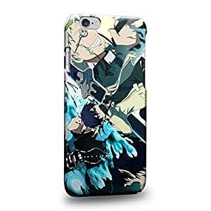 """Case88 Premium Designs Blue Exorcist Rin Okumura Yukio Okumura 1730 Carcasa/Funda dura para el Apple iPhone 6 4.7"""" (No Plus 5.5"""" !)"""