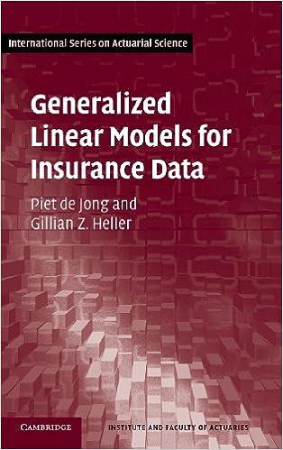 Generalized Linear Models For Insurance Data Pdf