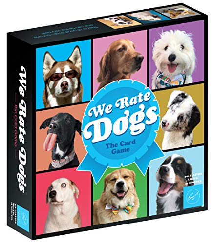 (We Rate Dogs! The Card Game – for 3-6 Players, Ages 8+ - Fast-Paced Card Game Where Good Dogs Compete to be The Very Best – Based on Wildly Popular @WeRateDogs Twitter Account)