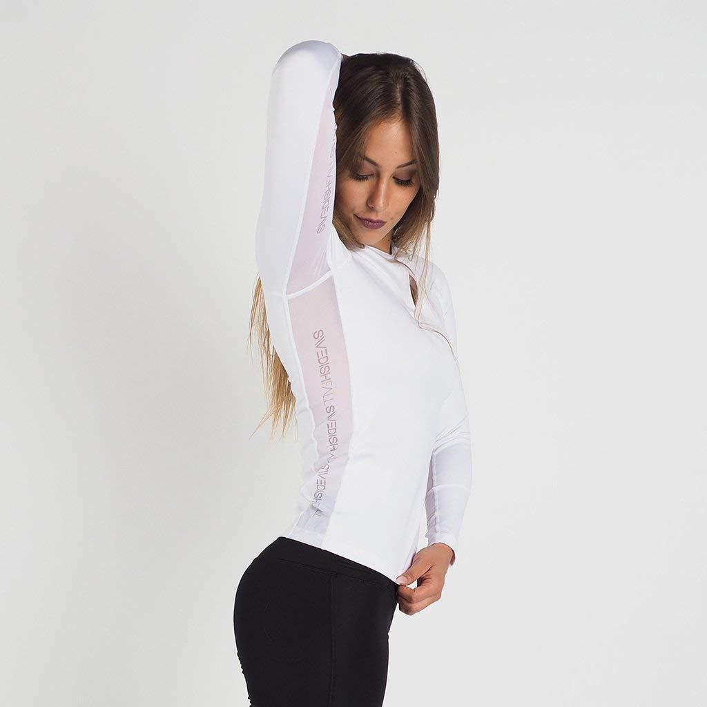 SWEDISH FALL LIFTING ATHLETES Damen Longshirt Coconut Kiss